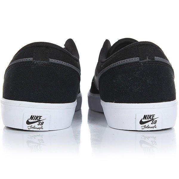 Кеды низкие Nike Sb Portmore II Solar Black/Dark Grey