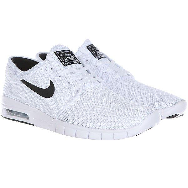 Кроссовки Nike Stefan Janoski Max White/Black