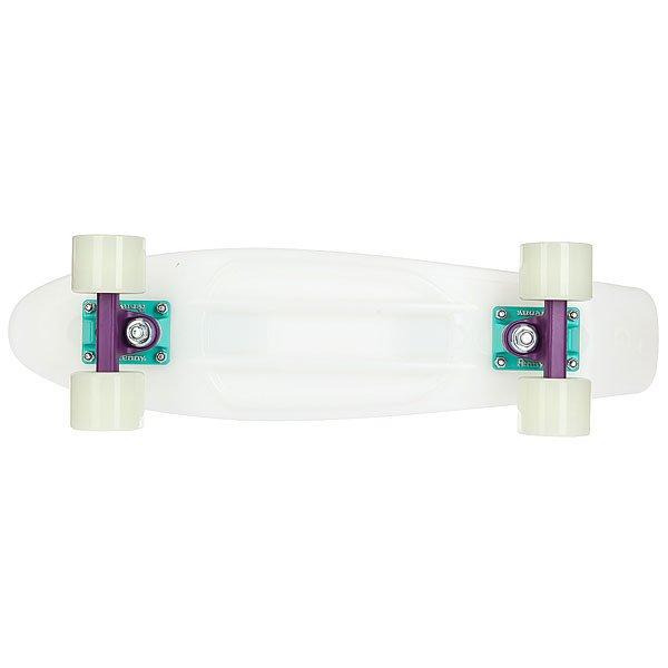 Скейт мини круизер Penny Original 22 Glow Galactic Glow - Purple/Aqua 6 x 22 (55.9 см)