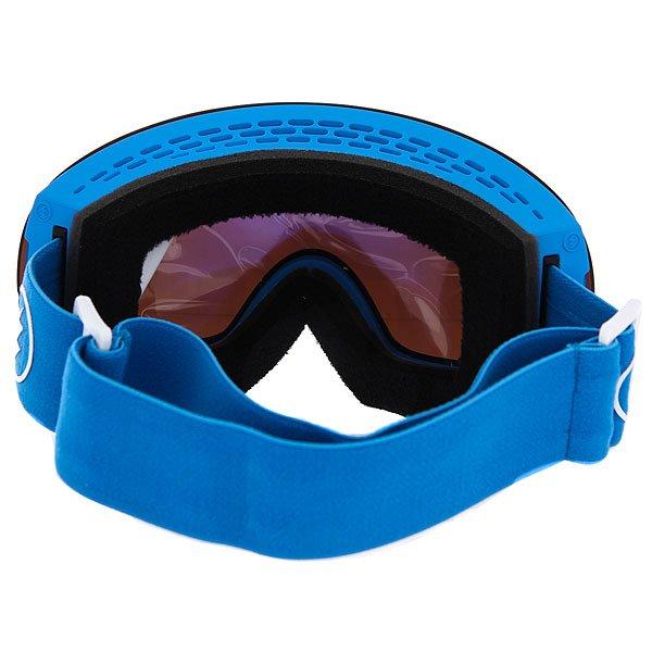 Маска для сноуборда Electric Eg3 Royal Blue+Black/Brose/Silver Chrome
