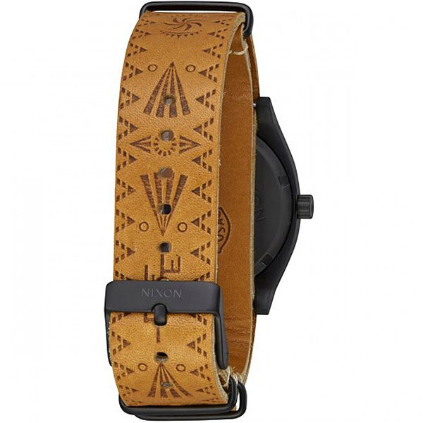 Кварцевые часы Nixon Time Teller Black/Tan Taka