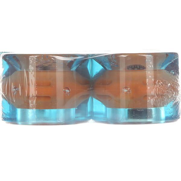 Колеса для лонгборда Вираж 83A 59 mm Blue Led Orange