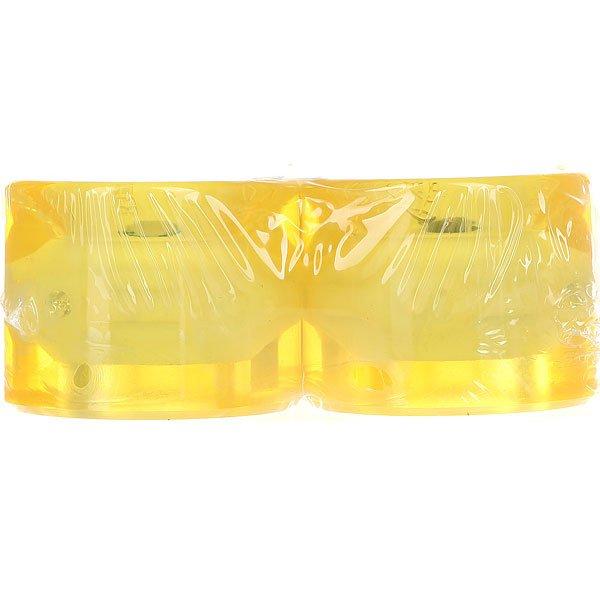 Колеса для лонгборда Вираж 83A 59 mm Yellow Led Blue