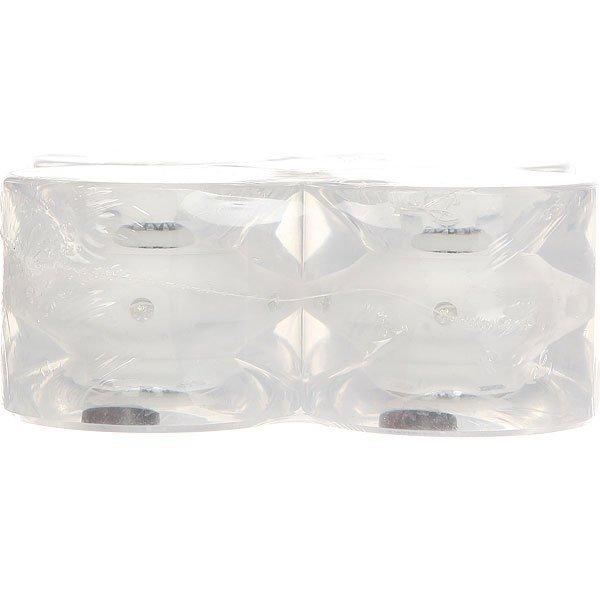Колеса для лонгборда Вираж 83A 69 mm White Led White