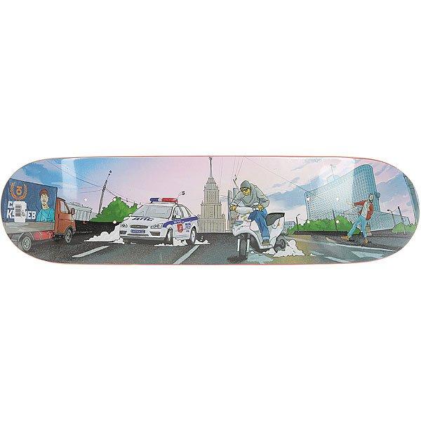 Купить Дека для скейтборда Юнион Kuliev Multi 31.5 x 8 (20.3 см) 1176816