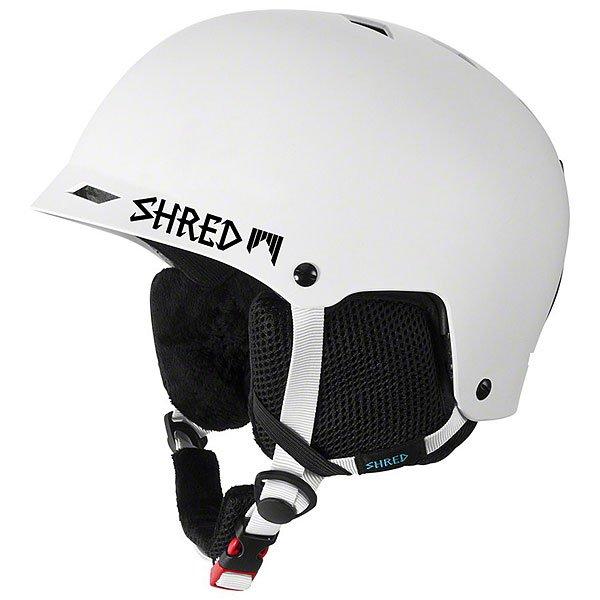 Шлем для сноуборда Shred Half Brain D-lux Bleach White