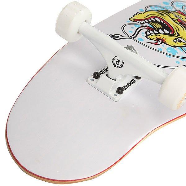 Скейт круизер Юнион Fish White/Multi 9 x 33 (83.8 см)