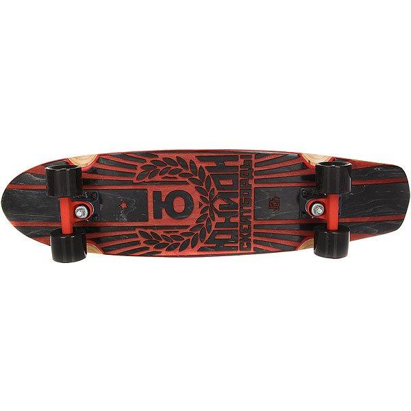 Скейт круизер Юнион Blood Red/Black 7.6 x 29.5 (75 см)