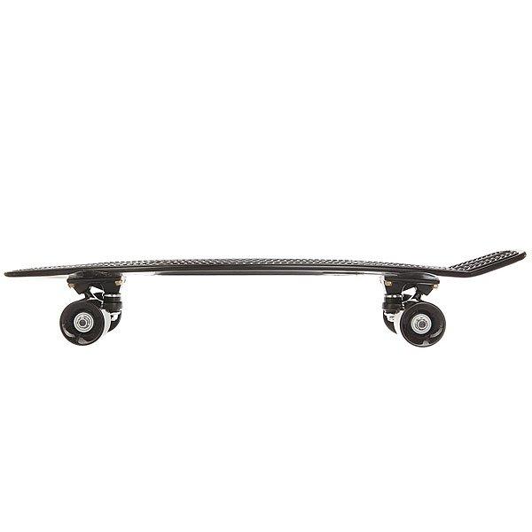 Скейт мини круизер Пластборд Oil Black 7.25 x 27 (68.5 см)