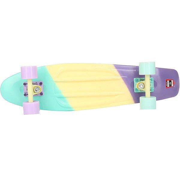 Скейт мини круизер Пластборд Cute Multi 7.25 x 27 (68.5 см)