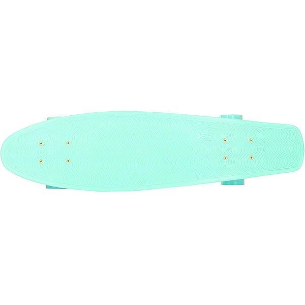 Скейт мини круизер Пластборд Mint Light Green 7.25 x 27 (68.5 см)