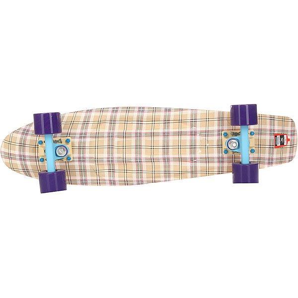 Скейт мини круизер Пластборд Casual Beige 7.25 x 27 (68.5 см)