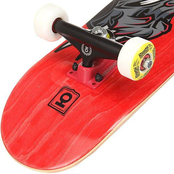 Скейтборд в сборе детский Юнион Dragon Red 28 x 7 (17.8 см)