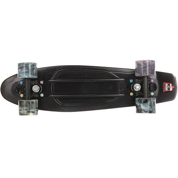 Скейт мини круизер Пластборд Torse Real Black 6 x 22.5 (57.2 см)