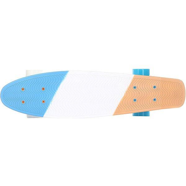 Скейт мини круизер Пластборд Stand Multi 6 x 22.5 (57 см)