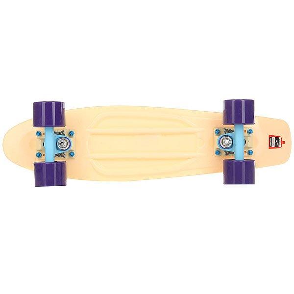 Скейт мини круизер Пластборд Sand Beige 6 x 22.5 (57 см)