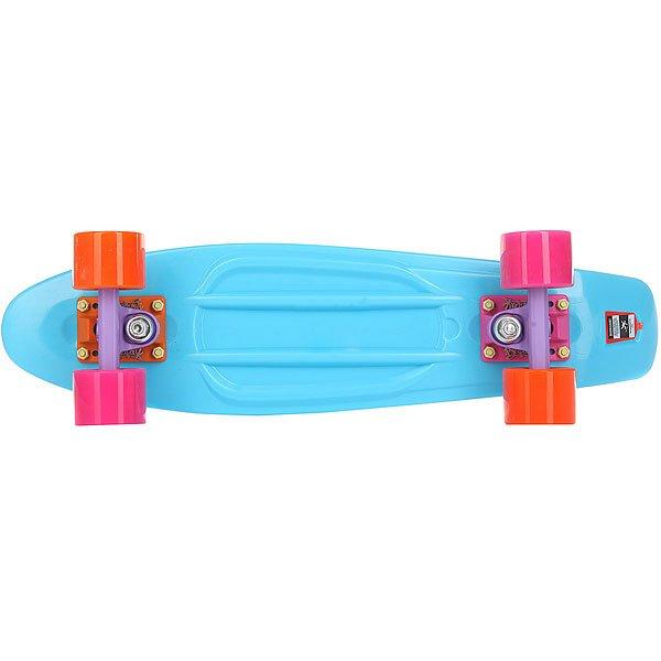 Скейт мини круизер Пластборд Frost Light Blue 6 x 22.5 (57 см)