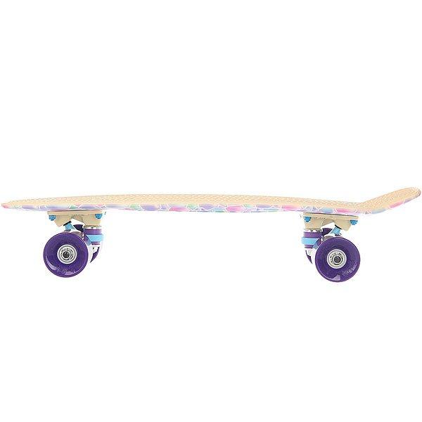 Скейт мини круизер Пластборд Desert Multi 6 x 22.5 (57 см)