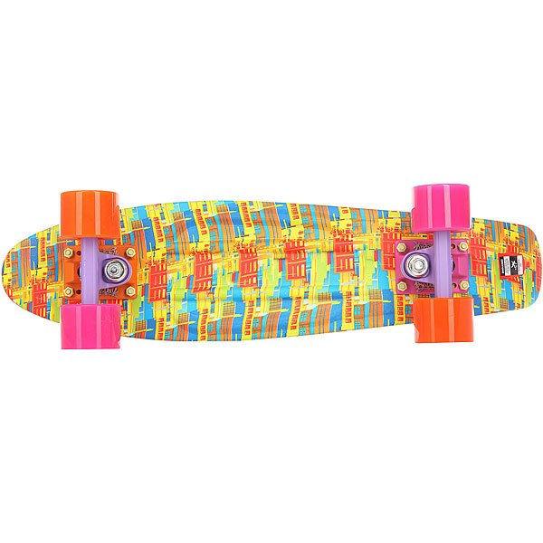 Скейт мини круизер Пластборд Sun Multi 6 x 22.5 (57 см)