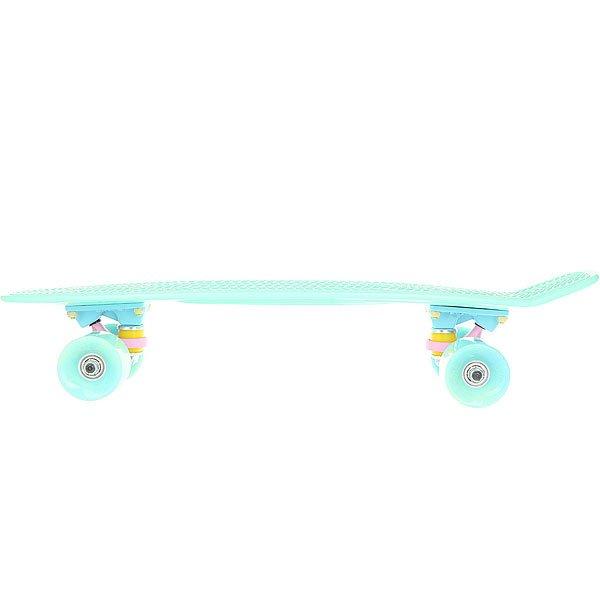 Скейт мини круизер Пластборд Mint Light Green 6 x 22.5 (57 см)