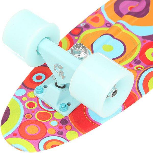 Скейт мини круизер Пластборд Insect Multi 6 x 22.5 (57 см)