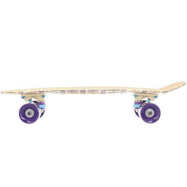 Скейт мини круизер Пластборд Casual Beige 6 x 22.5 (57 см)