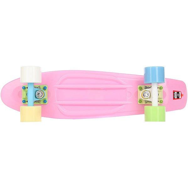 Скейт мини круизер Пластборд Barberry Pink 6 x 22.5 (57.2 см)