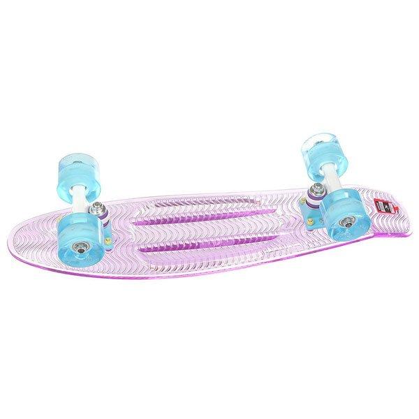 Скейт мини круизер Пластборд Candy Purple 6 x 22.5 (57.2 см)