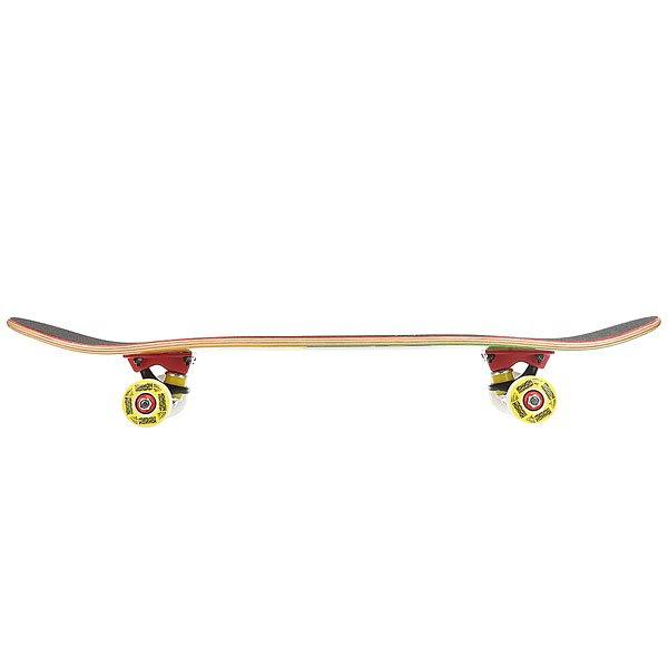 Скейтборд в сборе детский Юнион Horse Green 28 x 7 (17.8 см)