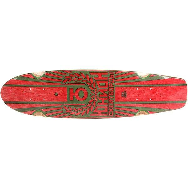 Купить Дека для лонгборда Юнион Rose Red/Green 7.6 x 29.5 (75 см) 1176996