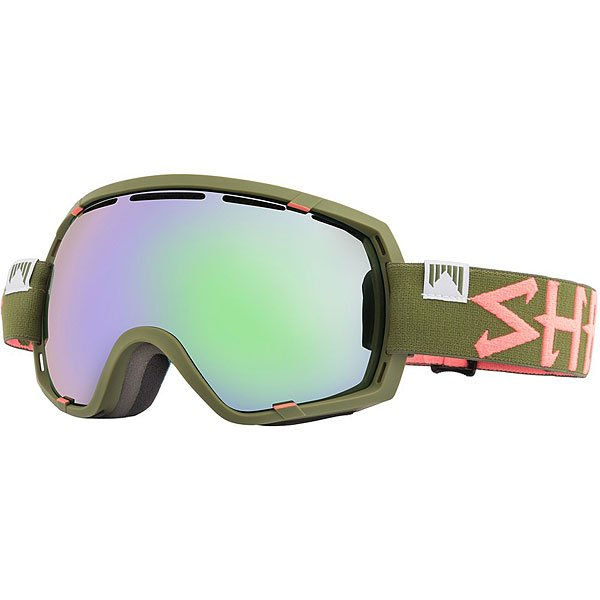 Маска для сноуборда Shred Stupefy Trooper Cbl/Blast Military Green