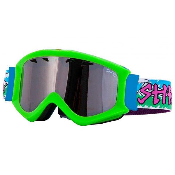Маска для сноуборда Shred Tastic Needmoresnow Green