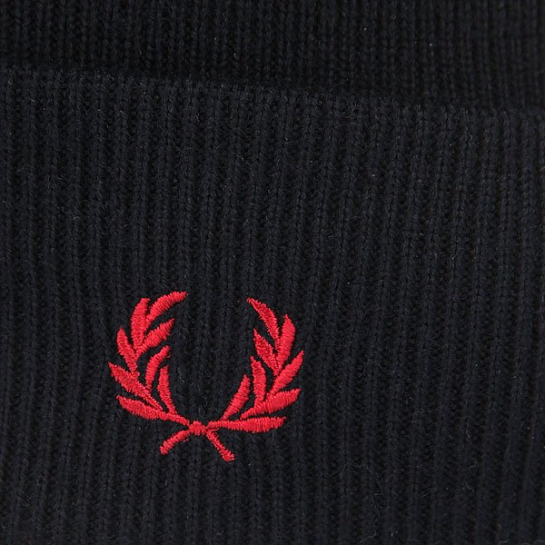 Шапка Fred Perry Merino Wool Beanie Real Black