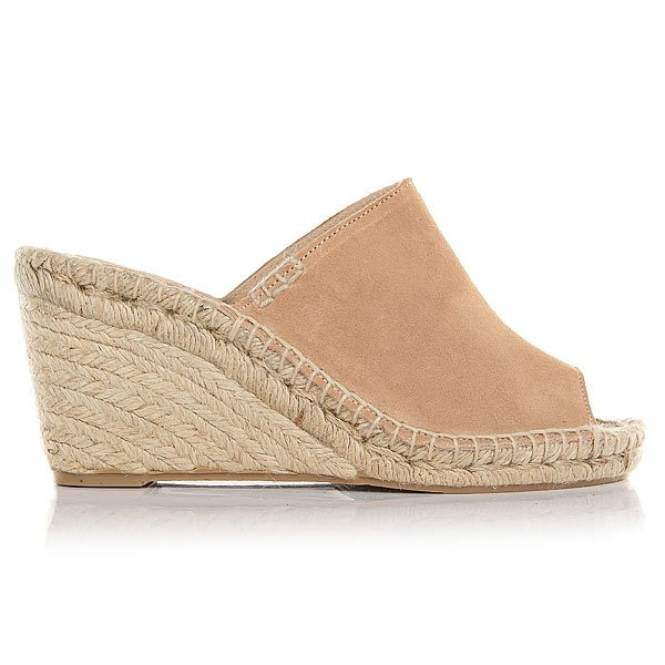 Сабо женское Soludos Mule Wedge Cream