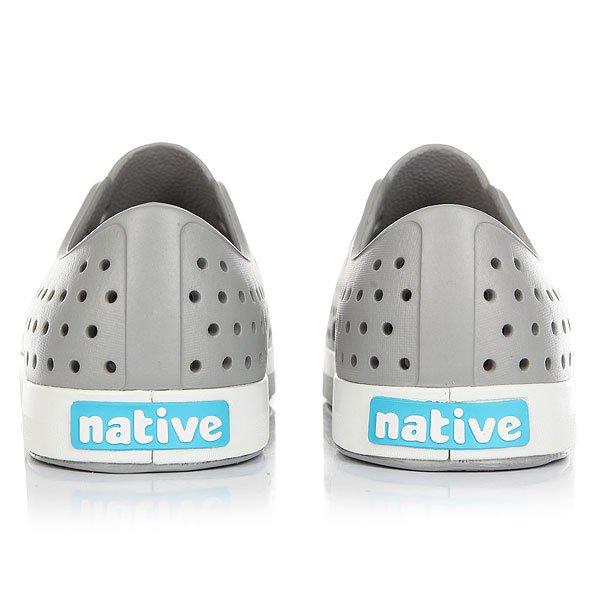 Кеды низкие Native Jefferson Pigeon Grey/Shell White