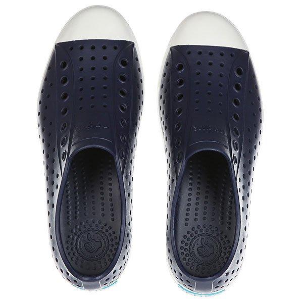 Кеды низкие Native Jefferson Regatta Blue/Shell White