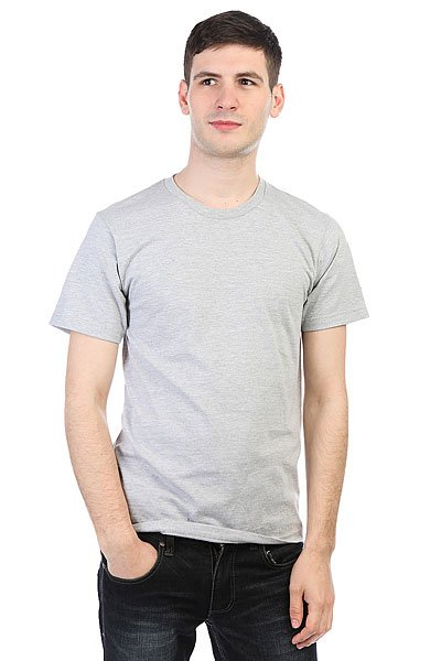 Футболка Undefeated Felt Patch Strike Tee Grey Heather