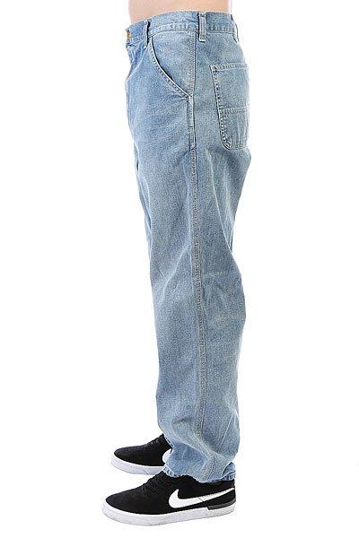 Джинсы прямые Carhartt WIP Simple Pant Blue