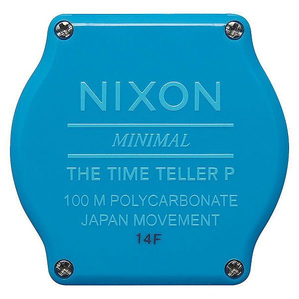 Кварцевые часы Nixon Time Teller Bright Blue