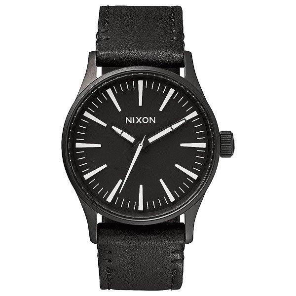 Кварцевые часы Nixon Sentry 38 Leather