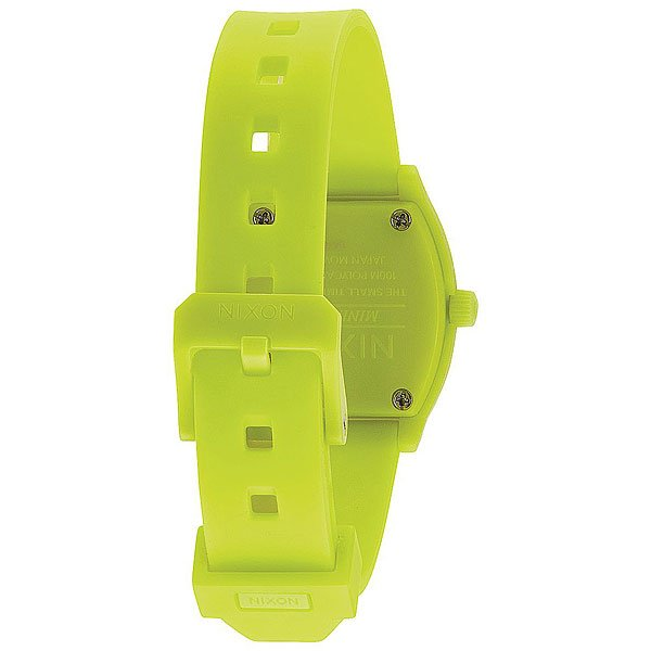 Кварцевые часы Nixon Small Time Teller Lime