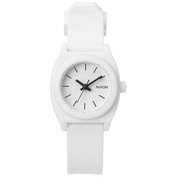 Кварцевые часы женский Nixon Small Time Teller White