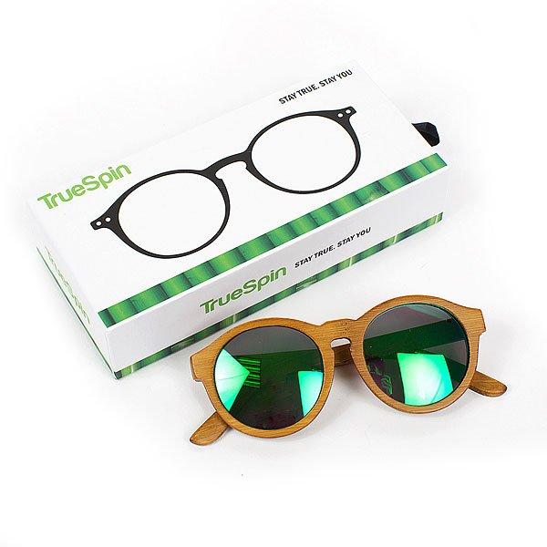 Очки TrueSpin Bifos Creme/Green