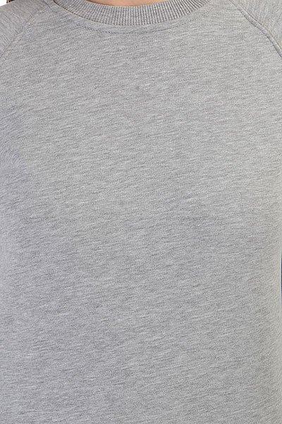 Толстовка классическая женская НИИ Classic Raglan Серый Меланж