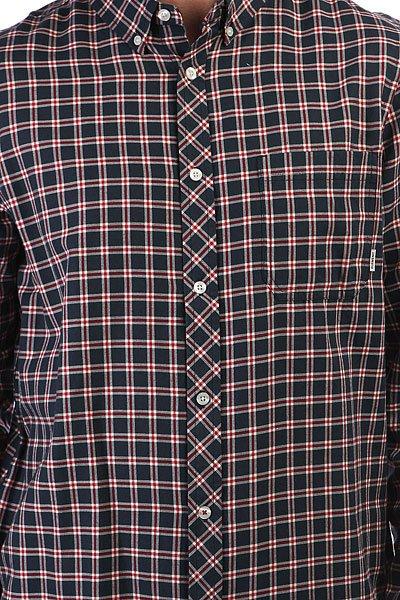 Рубашка в клетку Element Goodwin Midnight Blue