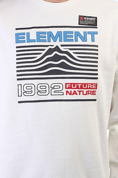 Толстовка классическая Element Hodges Crew Optic White