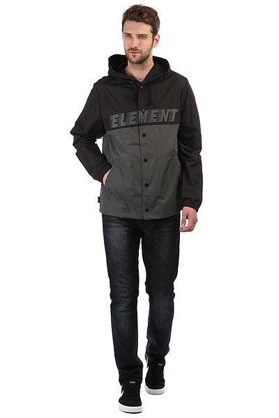 Ветровка Element Hooded Coach Tw Flint Black
