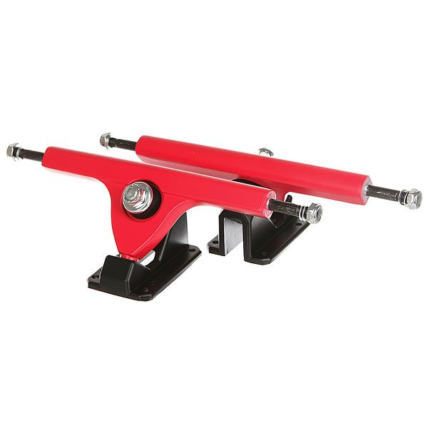 Подвески для лонгборда 2шт. Вираж Red/Black 7 (24.8 см)