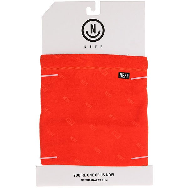 Шарф труба Neff Shield Gaiter Orange