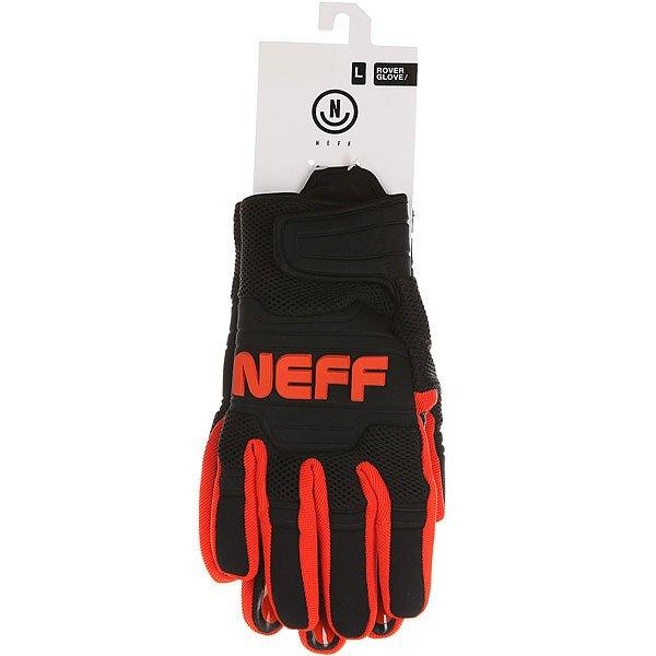Перчатки сноубордические Neff Rover Glove Black/Orange
